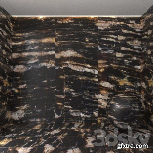 Magic black marble