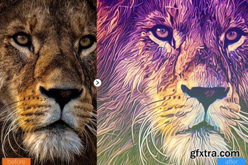 CreativeMarket - Painting Photoshop Action V6 5439244