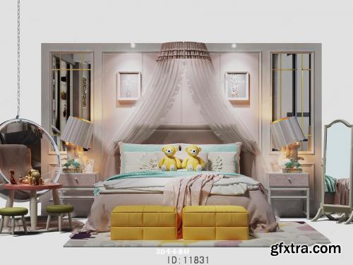 Modern Bed 088