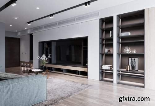 Kitchen – Livingroom Scene By Nguyen Phuong Ha