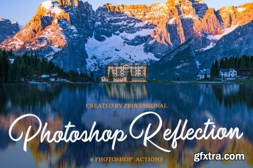 CreativeMarket - Reflection Photoshop Actions 4548061