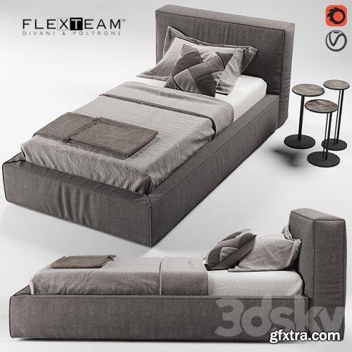 FLEXTEAM SLIM ONE bed (single)