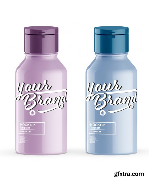 Glossy Soap Bottle Mockup 385560216