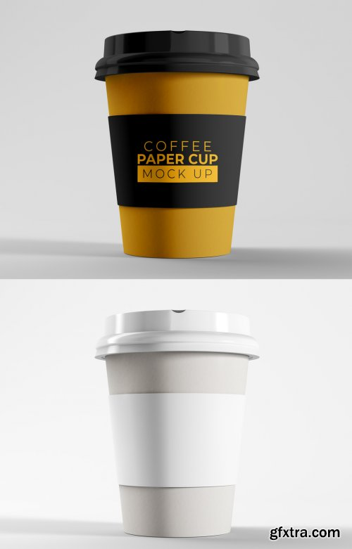 Coffee Paper Cup Mockup 385827648