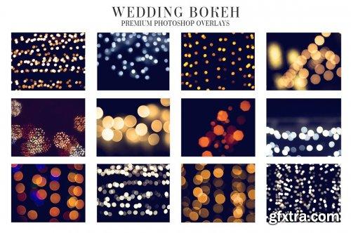 CreativeMarket - Wedding Bokeh Overlays 4934941