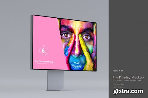 CreativeMarket - Pro Display Mockups 5488648