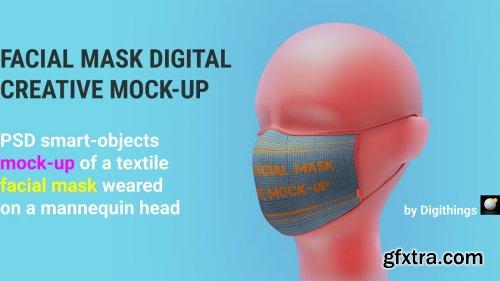 CreativeMarket - Facial mask MOCK-UP 5012151