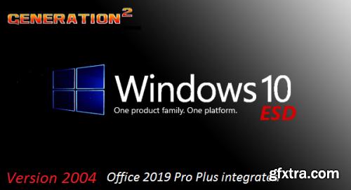 Windows 10 Version 2004 Build 19041.572 Pro incl Office 2019 Pro Plus en-US October 2020