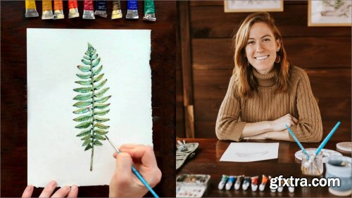 Watercolor in the Woods: A Beginner's Guide to Painting the Natural World