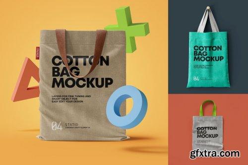 CreativeMarket - COTTON BAG MOCKUP: Statio pack 5490294