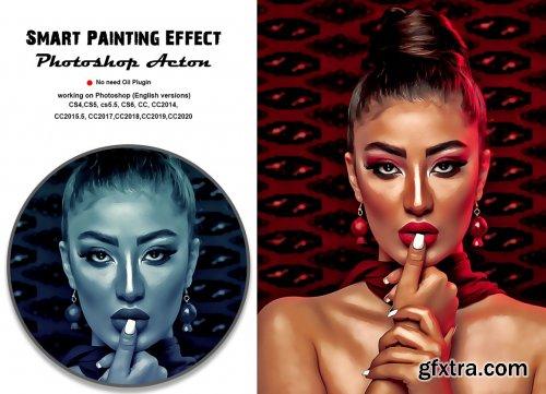 CreativeMarket - Smart Painting Effect PS Actin 5394795