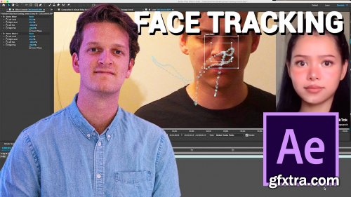 Explaining how we use face-tracking in our videos (TikTok Filter) - After Effects