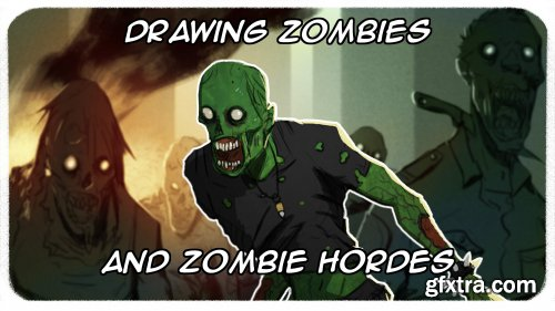 Drawing Zombies and Zombie Hordes
