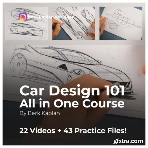 Car Design 101 - All in One Course for Sketching