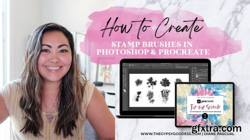 How to Create Stamp Brushes in Photoshop and Procreate