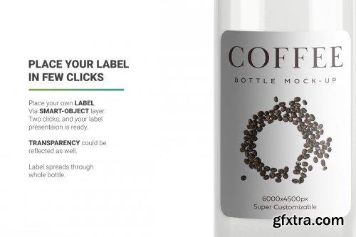CreativeMarket - Coffee Bottle Mockup 4971158