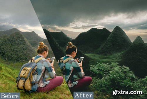Jungle Traveling Photoshop Actions