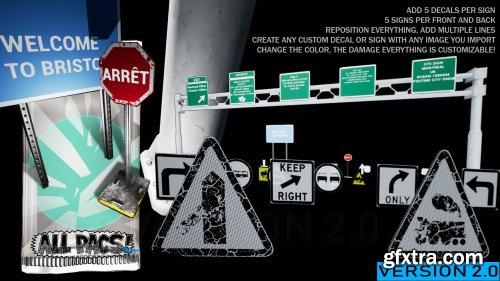Road Sign & Billboard Generator Pack