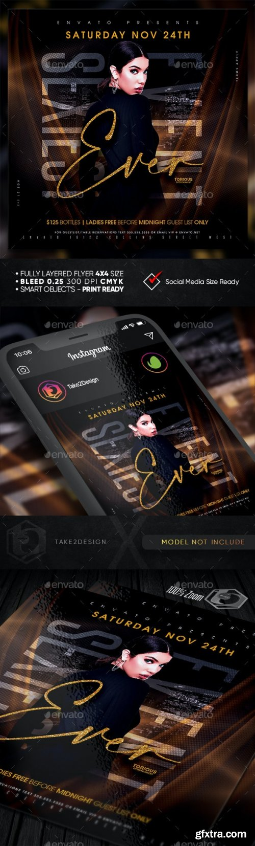 GraphicRiver - Ladies Night Flyer Template 28940337