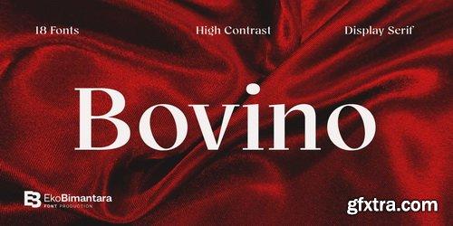 Bovino Font Family