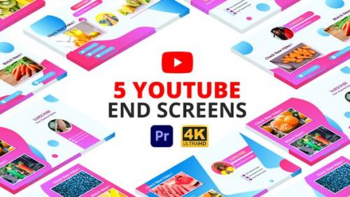 Videohive - YouTube End Screens | Premiere Pro MOGRT