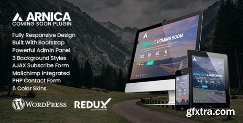CodeCanyon - Arnica v1.5 - Creative Coming Soon WordPress Plugin - 23093323