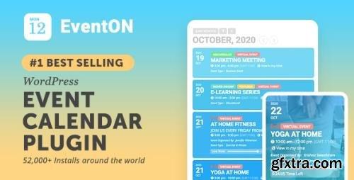 CodeCanyon - EventOn v3.0.2 - WordPress Event Calendar Plugin - 1211017 - NULLED