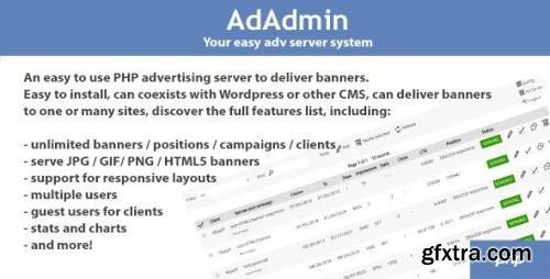 CodeCanyon - AdAdmin v3.85 - Easy adv server (adversting platform) - 12710605