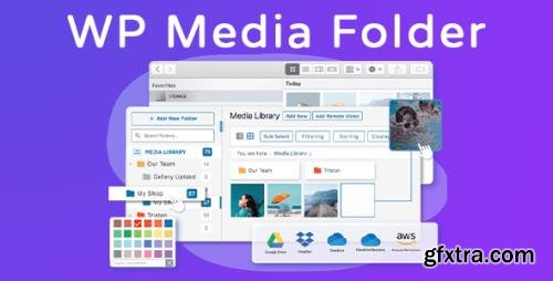 WP Media Folder v5.3.4 - WordPress Media Library + Add-Ons