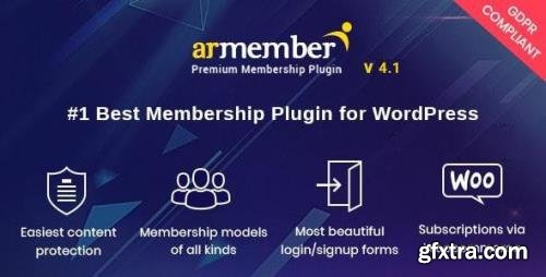 CodeCanyon - ARMember v4.1 - WordPress Membership Plugin - 17785056 - NULLED