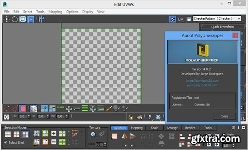 PolyUnwrapper v4.3.5 for 3ds Max 2010 – 2021