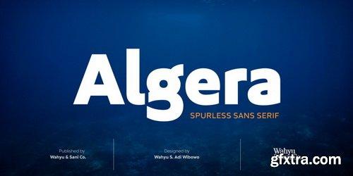 Algera Font Family