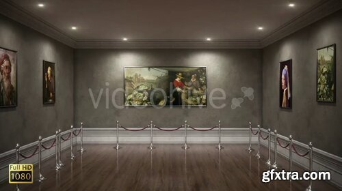 Videohive - Art Museum Photo Gallery 02 - 28683237