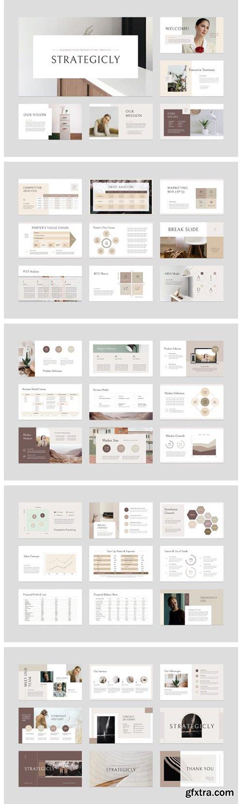 Business Plan PowerPoint Template 6508195