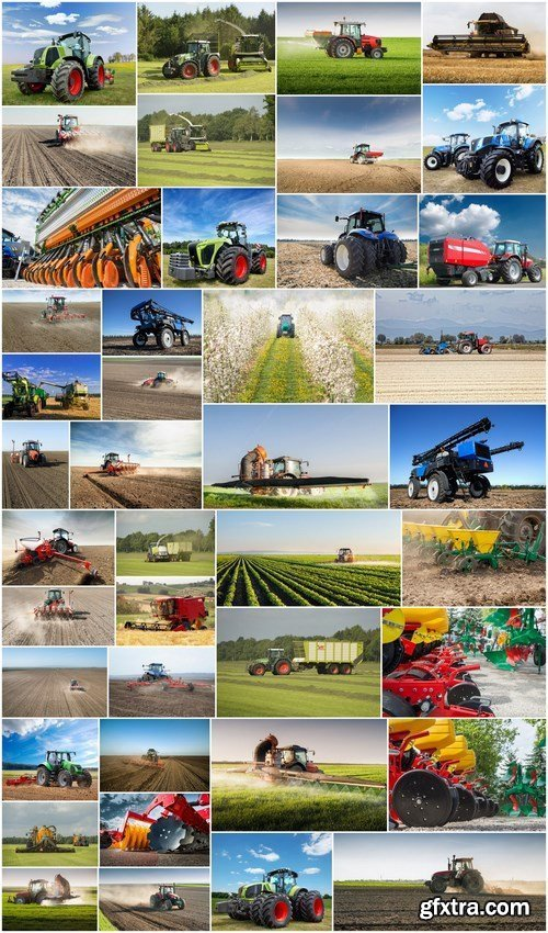 Agrarian Equipment - Set of 42xUHQ JPEG Professional Stock Images