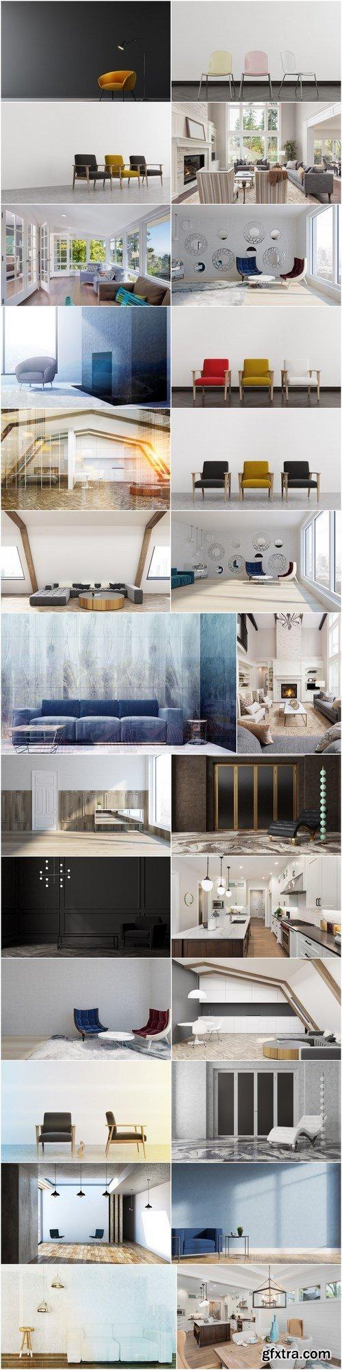 Modern interiors and cosiness - 26xHQ JPEG