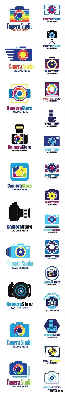 Camera Logo - 25xEPS