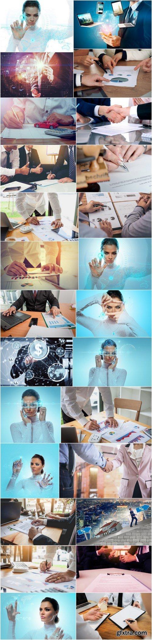 Business, work, business of technology - 26xHQ JPEG