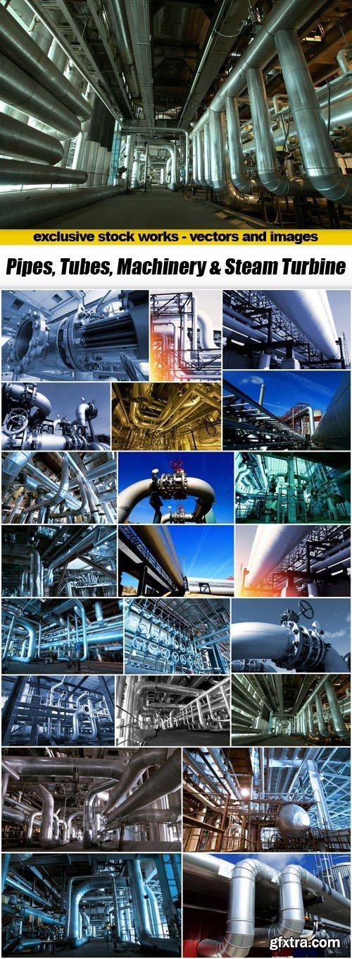 Pipes, Tubes, Machinery & Steam Turbine - 22xUHQ JPEG