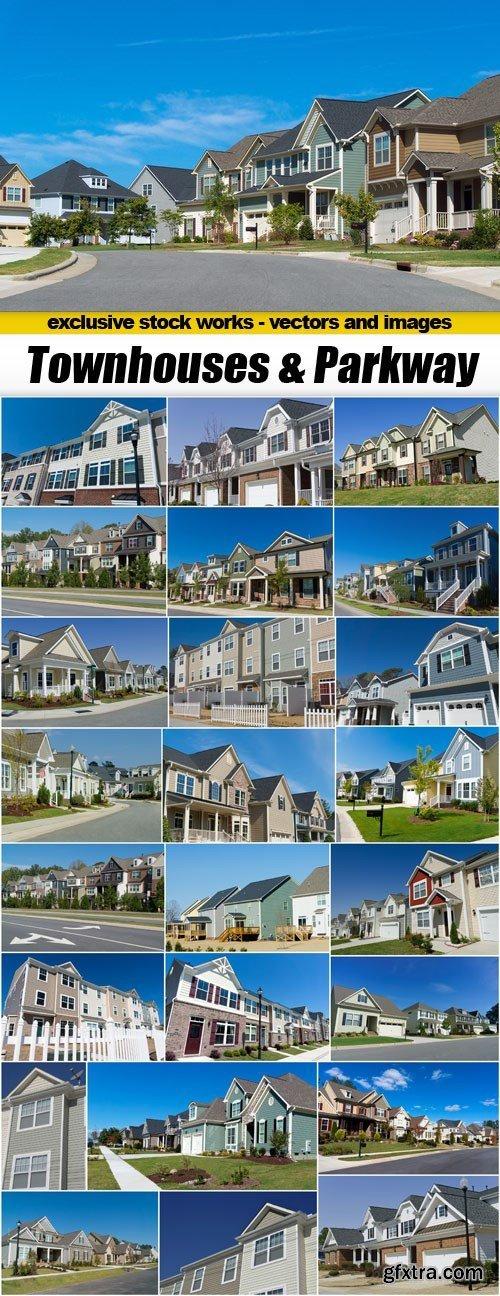 Townhouses & Parkway - 25xUHQ JPEG
