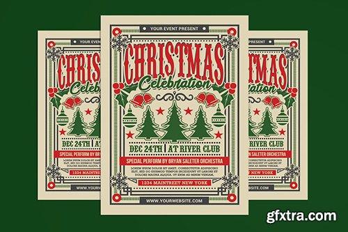 Christmas Celebration Vintage Flyer