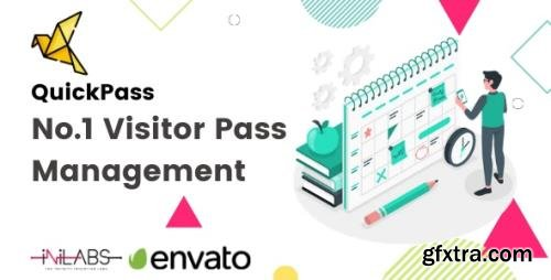 CodeCanyon - QuickPass v2.0 - Visitor Pass Management System - 24643230 - NULLED
