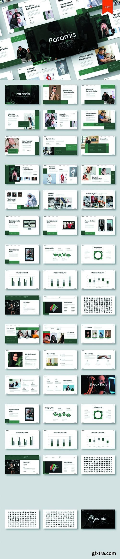 Paramis – Business PowerPoint Template