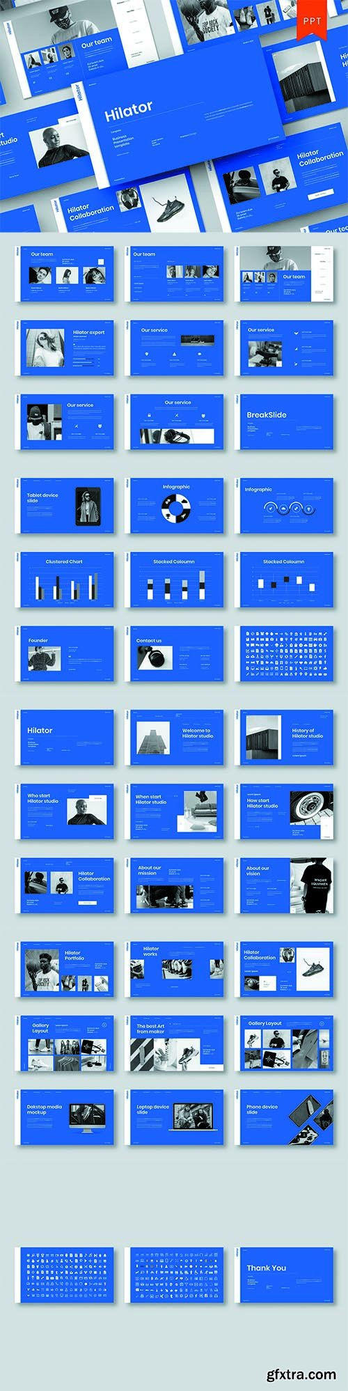 Hilator – Business PowerPoint Template