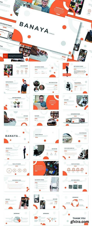Banaya - Business  Powerpoint, Keynote and Google Slides Template