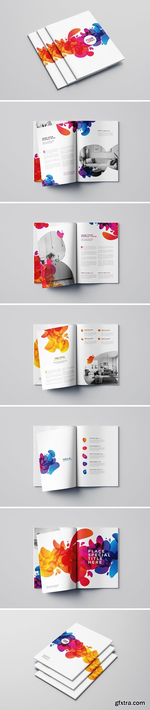 Colorful Abstract Brochure