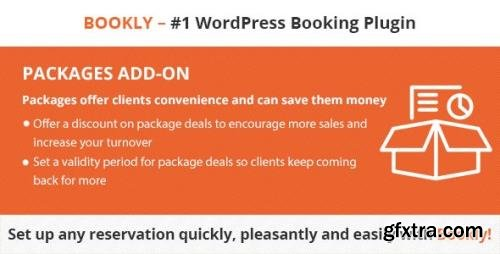 CodeCanyon - Bookly Packages (Add-on) v3.6 - 20952783