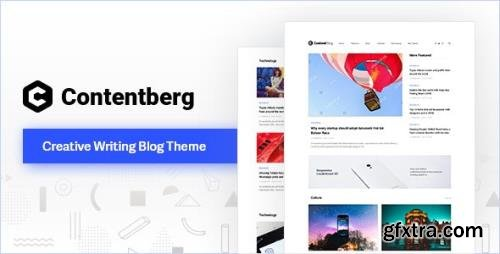 ThemeForest - Contentberg v1.8.3 - Content Marketing & Personal Blog - 22634637