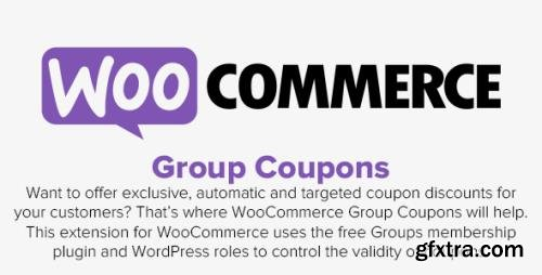 WooCommerce - Group Coupons v1.16.0