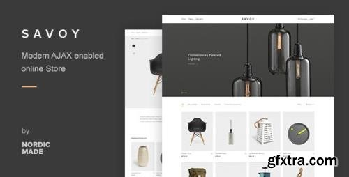 ThemeForest - Savoy v2.4.11 - Minimalist AJAX WooCommerce Theme - 12537825